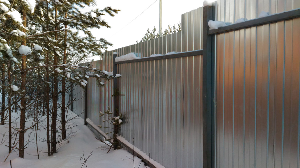 забор из профнастила в севастополе
